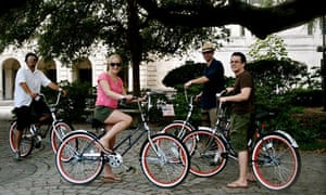 A guided ride of the city with New Orleans Bike Tours