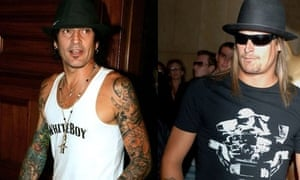 Tommy Lee and Kid Rock