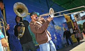 Musicians in Frenchmen Street, New Orleans.