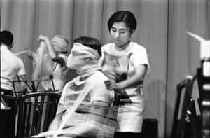 Sky Piece to Jesus Christ, 1965. Performed by Yoko Ono, La Monte Young (conductor), and the Fluxus Symphony Orchestra, Carnegie Hall, New York, 25 September, 1965.