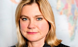 Justine Greening, international development secretary