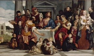 Supper at Emmaus, about 1555, by Paolo Veronese