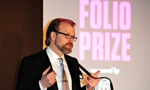 George Saunders, who won the inaugural Folio prize for his book Tenth of December.