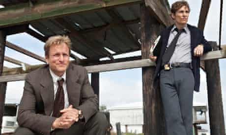 Woody Harelson and Matthew McConaughey in True Detective.