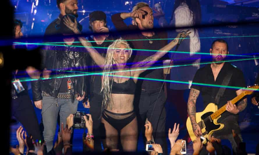 Lady Gaga eats up the applause at SXSW festival in Austin