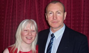 Kelly Gallagher with her late father, Patrick.