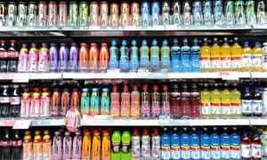 Many fizzy drinks contain vast amounts of sugar