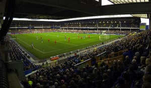 saturday's games: Goodison Park general view