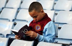 saturday's games: A young Aston Villa fan