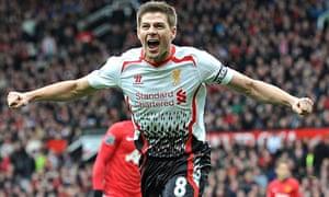 Steven Gerrard scores from the spot