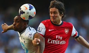 Tomas Rosicky in action for Arsenal