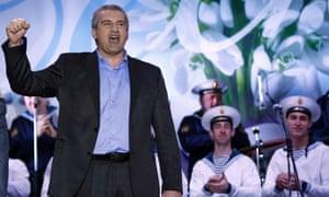 Crimean Prime Minister Sergei Aksyonov  ukraine russia