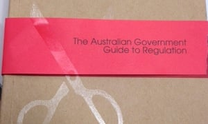 red tape booklet