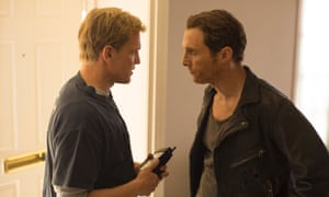 Woody Harrelson and Matthew McConaughey in True Detective, getting ready for their long shot.