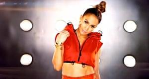 J-Lo's gilet