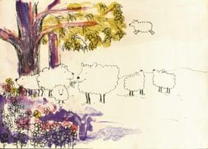 'Oh dear sheep' from 'Bernice's Sheep' by John Lennon