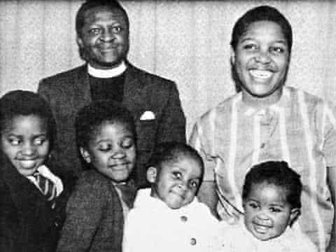 Desmond Tutu family pic