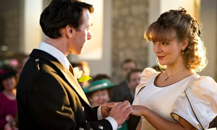 Reece Shearsmith and Sheridan Smith as the Websters in The Widower