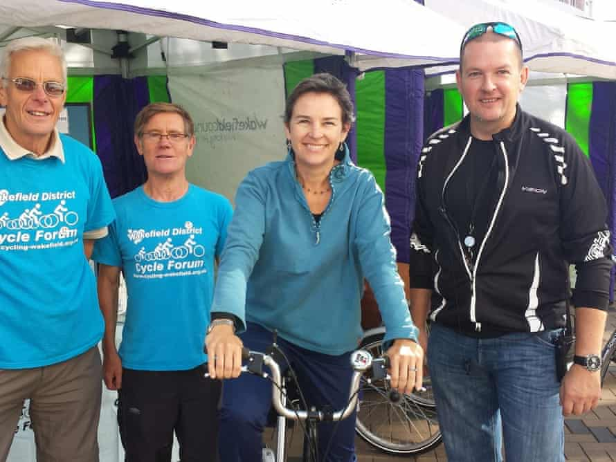 Labour MP Mary Creagh at Wakefield Cycle Forum