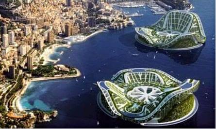 Cities: Seasteading Institute floating cities