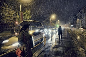 Vlad Eftenie, Romania - First snow.  Winner of the Open competition - Low Light category.