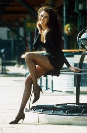 L'Wren Scott during her modelling days.