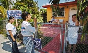 hispanic voters latino voters florida kerry 2004