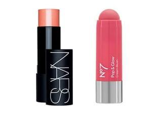 Nars The Multiple vs No 7 blush