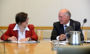 Tony Windsor and Indi independent MP Cathy McGowan speak on CSG.