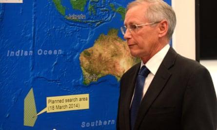 Australian MH370 search area