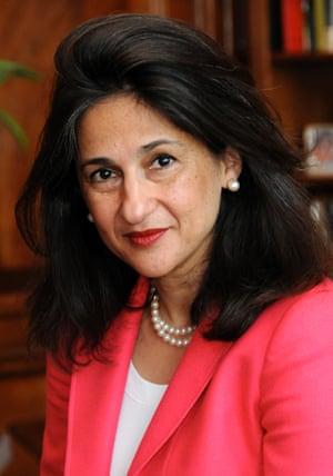 DFID's Permanent Secretary, Nemat 'Minouche' Shafik