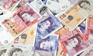 British banknotes – money