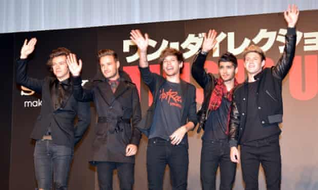 One Direction had the biggest-selling album of 2013, but Japan dragged overall industry revenues down.