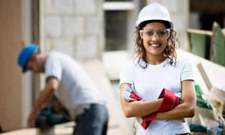 Initiatives such as the 'pink ladies' programme are raising the profile of women in construction.