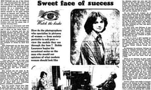 Guardian article on men who photograph women, 18 March 1976