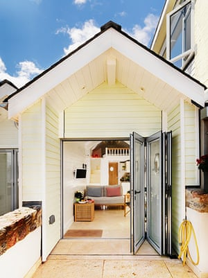 Cool holiday cottages: Shaldon Beach Huts, Shaldon