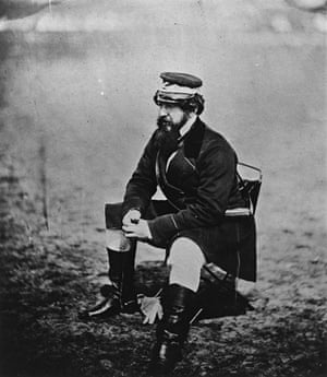 Sir William Howard Russell war correspondent  for The Times, 1854