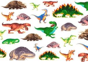 Dinosaur roar: 18 dinosaur
