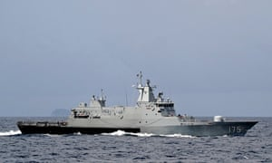 Royal Malaysian Navy offshore patrol vessel