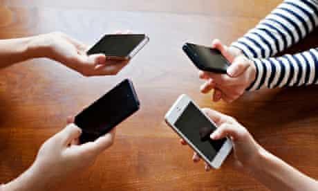 Sharing information on smartphones