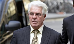Max Clifford Arrives at Court to Hear Sexual Accusations
