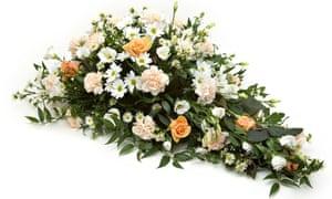 an arrangement of flowers
