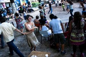 Dancing in San Telmo, Buenos Aires, Argentina