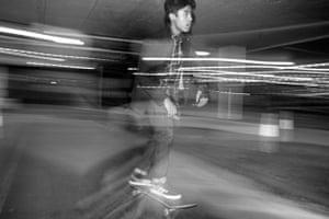 Skating, Uxbridge, London, England
