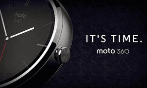 Motorola touts moto 360 smartwatch