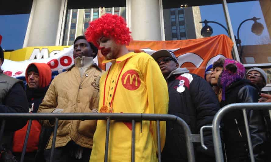 McDonald's New York protest