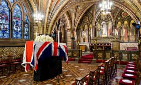 tony benn funeral undercroft hhonour