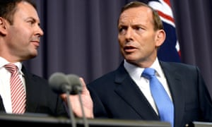 Josh Frydenberg and Tony Abbott