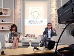 Joan Collins at QVC