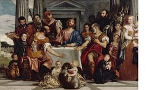 Veronese's Supper at Emmaus.